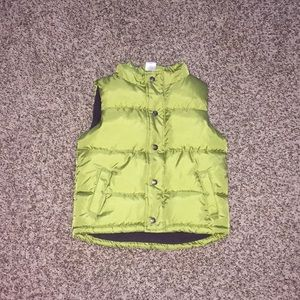 Toddler puffer vest!